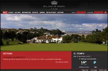 Web Real Golf de Pedreña