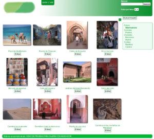 programa galeria de imágenes