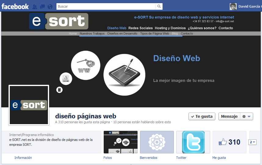 Nueva Página de Facebook de e-SORT