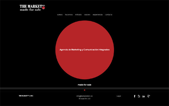 web the marketers, agencia de marketing y comunicacion