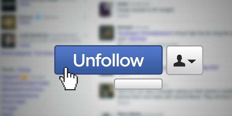 Unfollow de Facebook