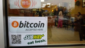 bitcoins Subway