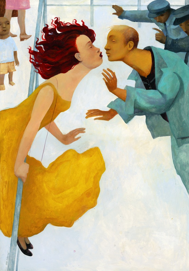 "Ilustración de Ana Juan, libro ""Amantes"""