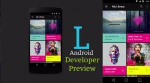 El nuevo SO Android L, a punto de aparecer para hacer frente a su equivalente de Apple, el IOS 8