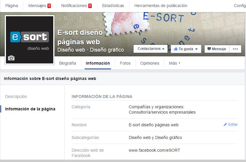 cambiar nombre pagina de facebook