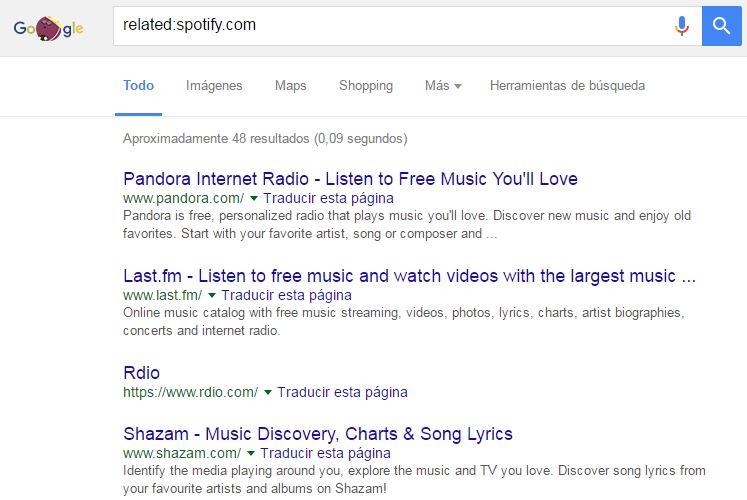 buscar en google - related