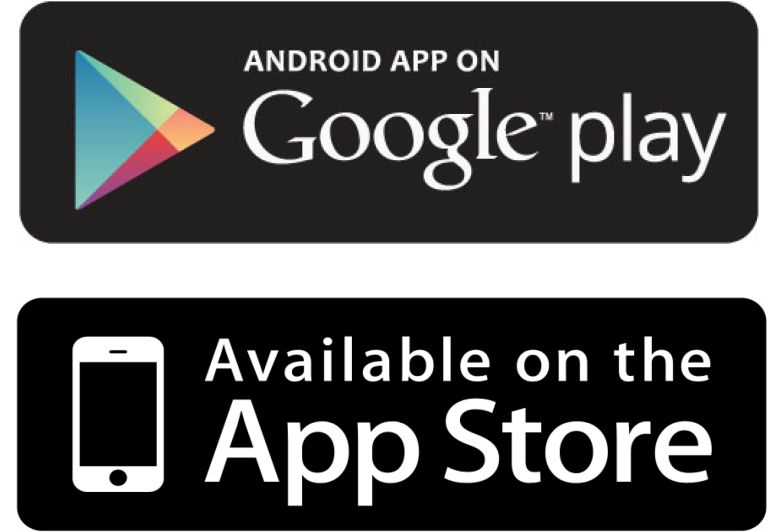 logo app store y google play
