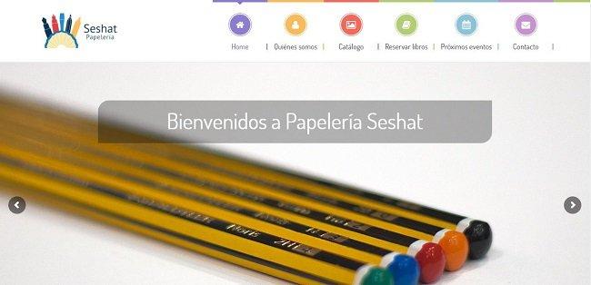 pagina-web-papeleria-seshat