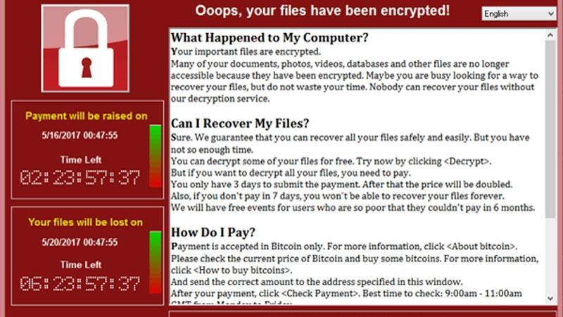 Qué hacer si el ransomware WannaCry infectó tu ordenador