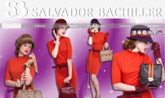 Diseño de la página web de Salvador Bachiller