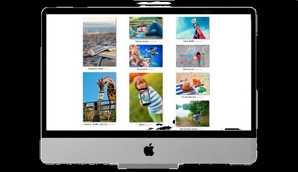 Web para un Concurso fotográfico